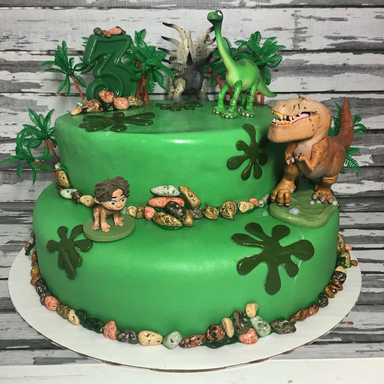 the good dinosaur birthday cake sparkling sweets