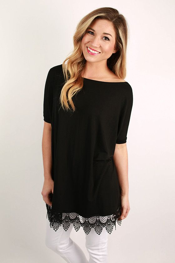 PIKO Uptown Top in Black $32
