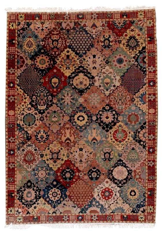 Antique Tabriz Rugs Petag Tabriz Carpet 1st Quarter 20th