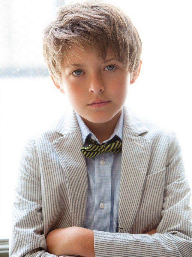 Coiffure enfant pour petit garçon tendances été 2015