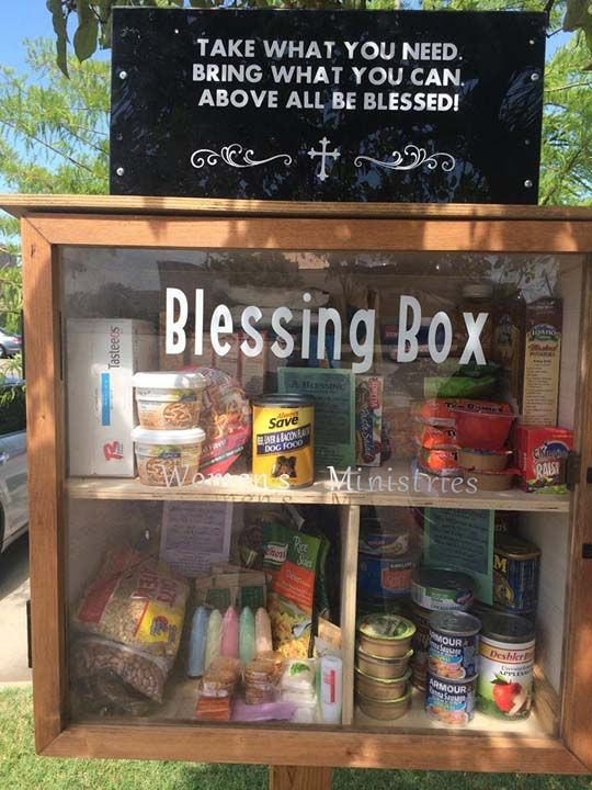 Little Free Pantry At Crystalrock Cathedral Ardmore