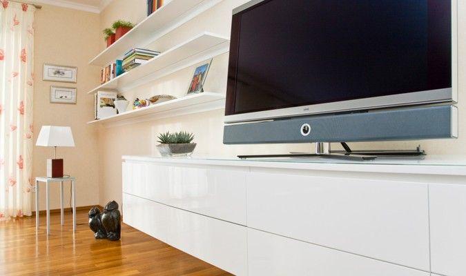 Lovely H ngeboard H ngeschrank als TV M bel Schickes modernes Design f r das Wohnzimmer