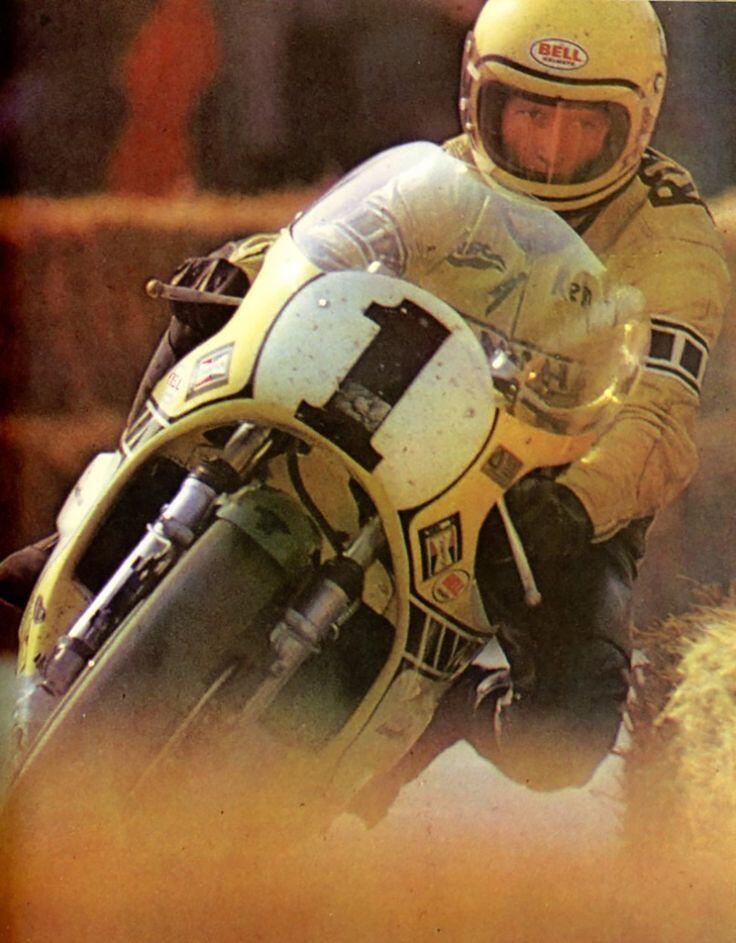 "itsbrucemclaren: "" Triple 500cc World Champion 'King' Kenny Roberts """