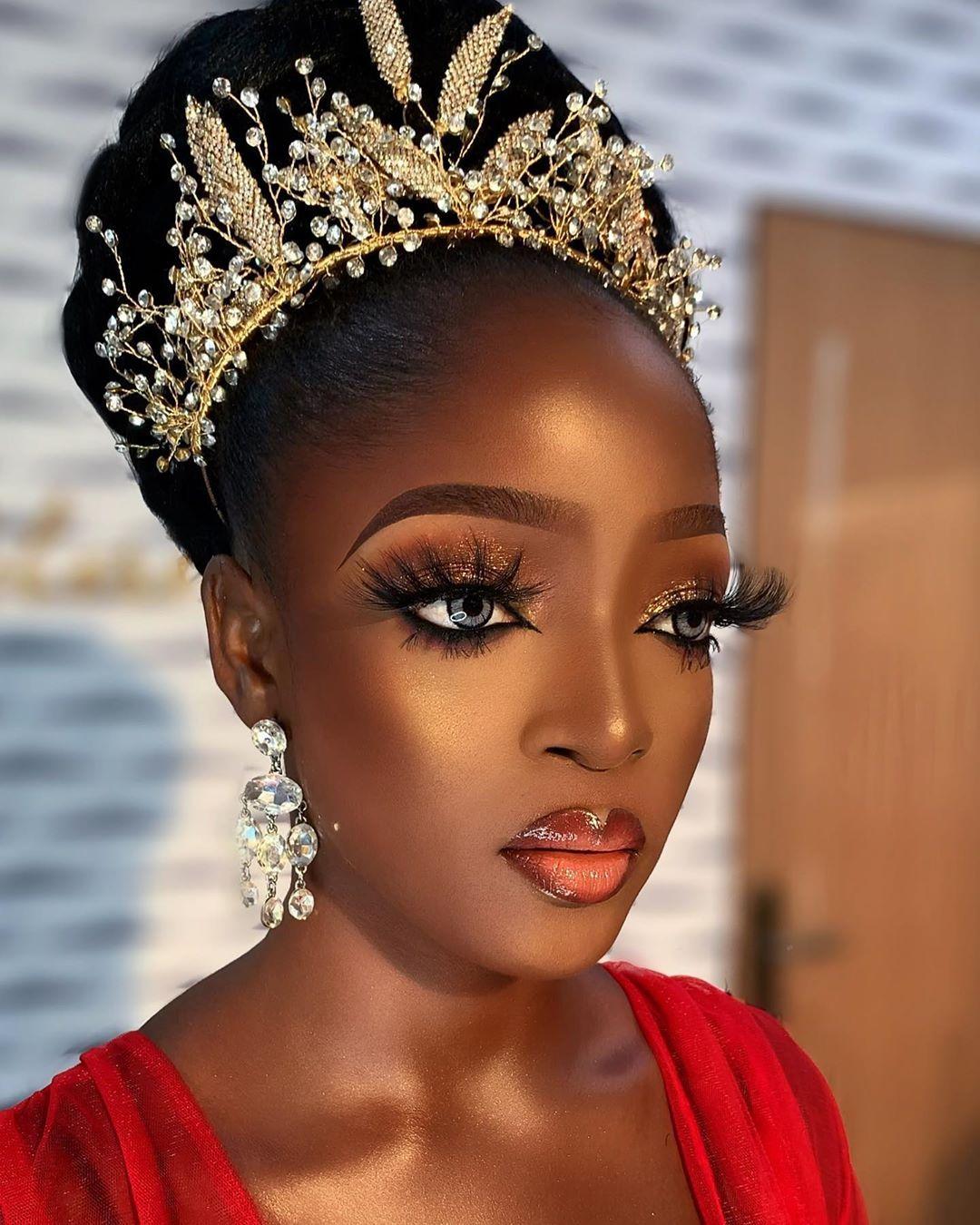 "Nigerian Makeup Artist. on Instagram ""Glow girl"
