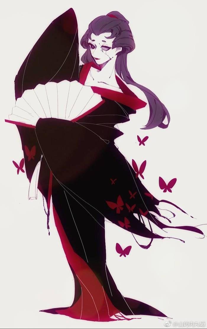 第五人格 紅蝶 | ภาพวาด เกอิชา และ แฟนอาร์ท