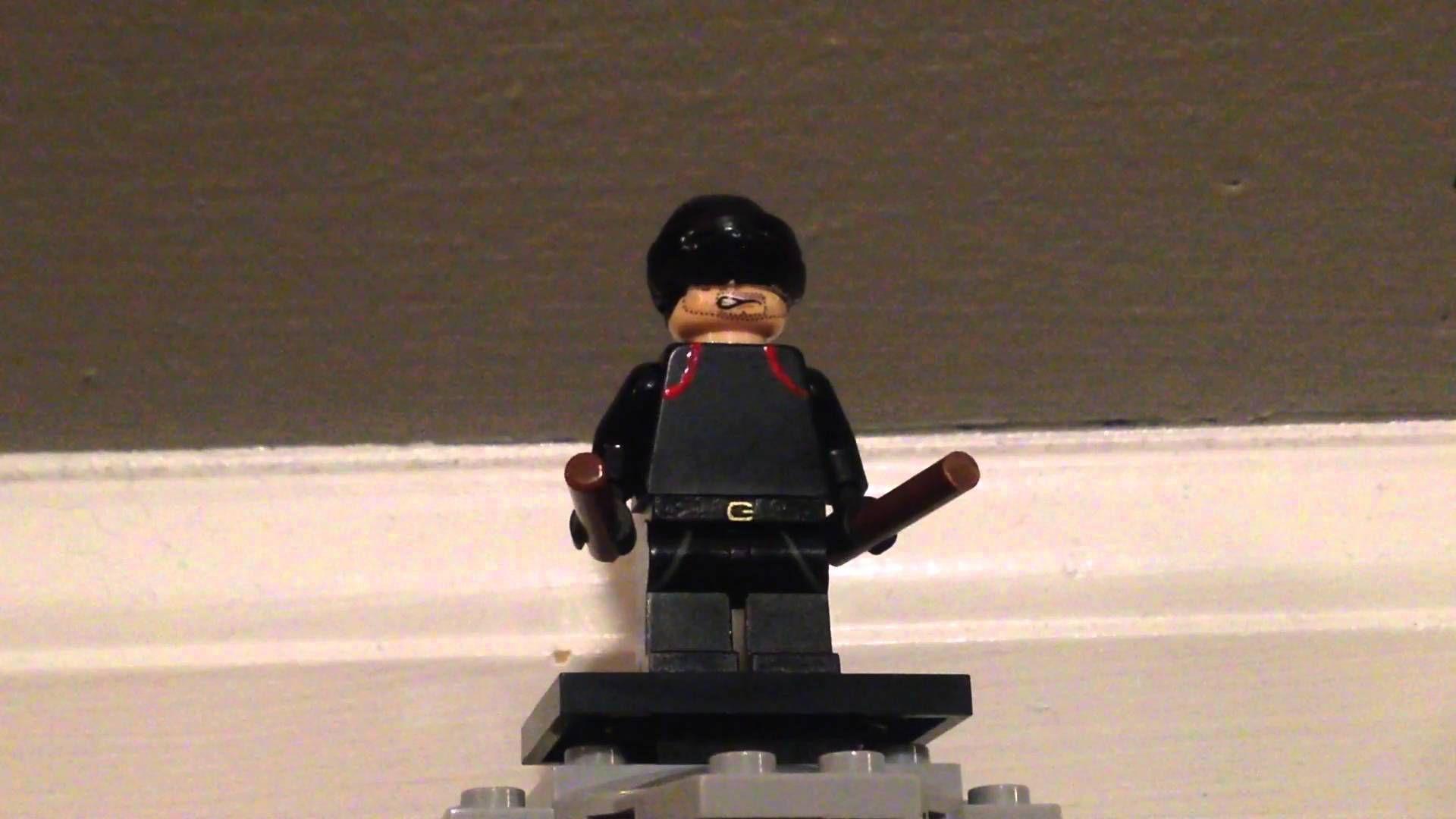 CUSTOM LEGO Black Daredevil