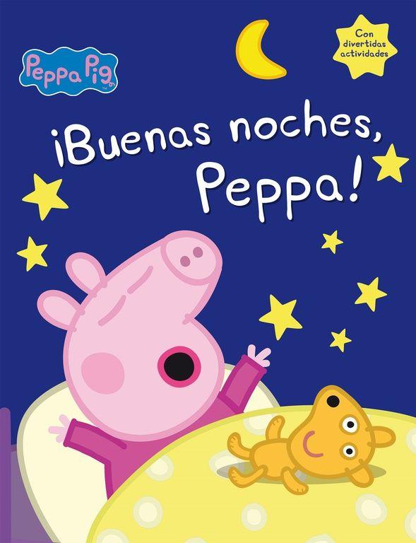 El cuento perfecto para que los niños se vayan a dormir acompañados de Peppa Pig, su personaje favorito.Es hora de dormir, pero Peppa y George no están en absoluto -¡ni siquiera un poquito!- cansados. ¿Podrá el cuento de princesas, caballeros, magos y dragones hacer que los pequeños caigan rendidos en la cama? http://rabel.jcyl.es/cgi-bin/abnetopac?SUBC=BPSOh&ACC=DOSEARCH&xsqf99=1835407