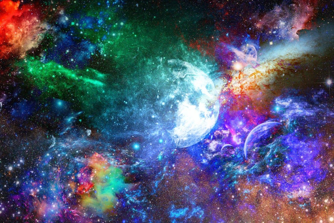 радужная вселенная картинки цвета