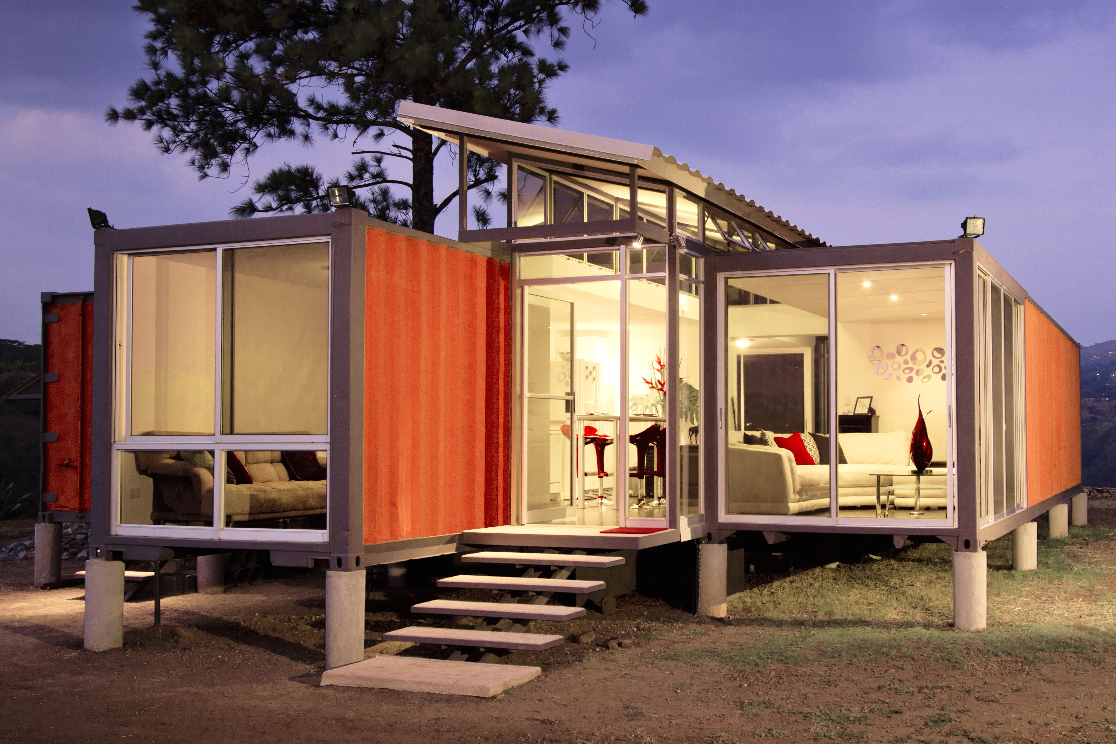 A Budget Friendly Shipping Container Home In Costa Rica Container House Shipping Container Architecture
