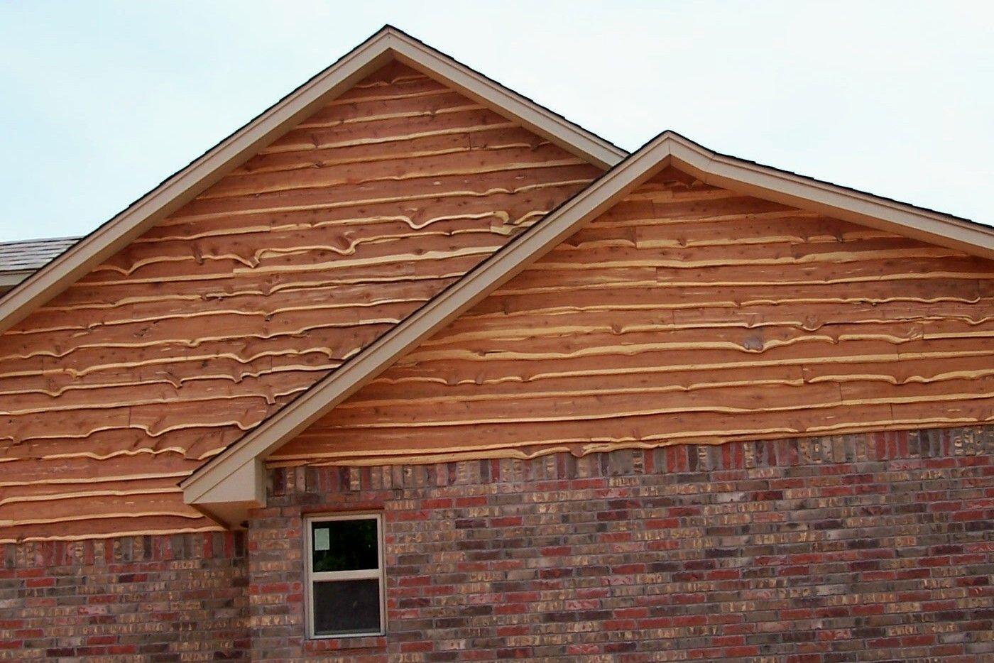 Best Live Edge Siding Near Newalla Oklahoma Cedar Siding 640 x 480