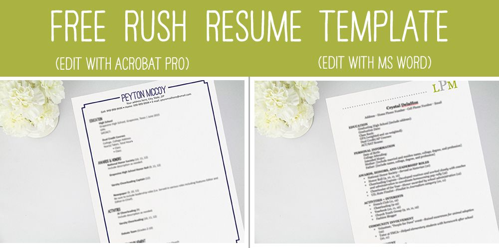 not sure where to start when it comes to creating a resume