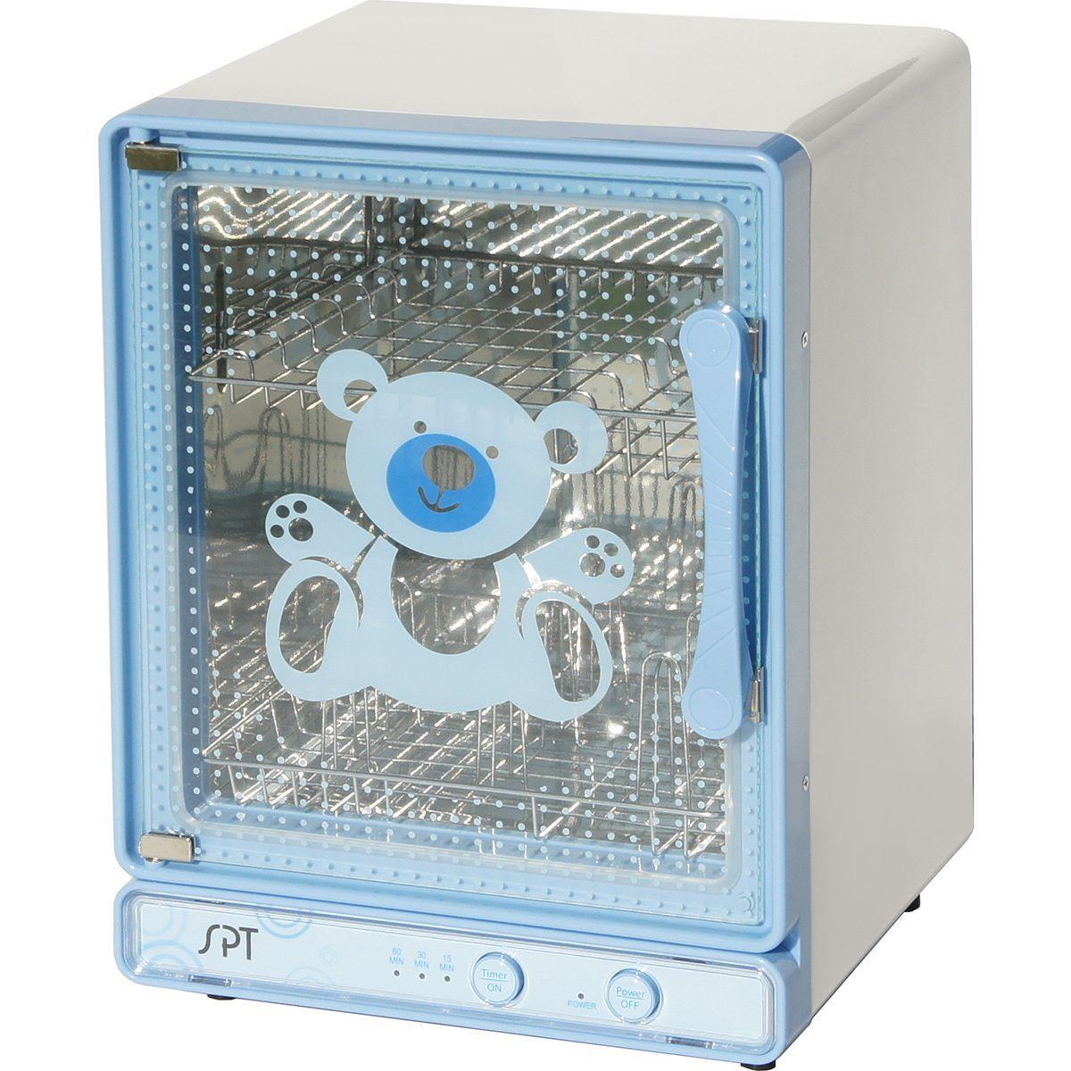 SPT Blue Baby Bottle Sterilizer and Dryer (Baby Bottle