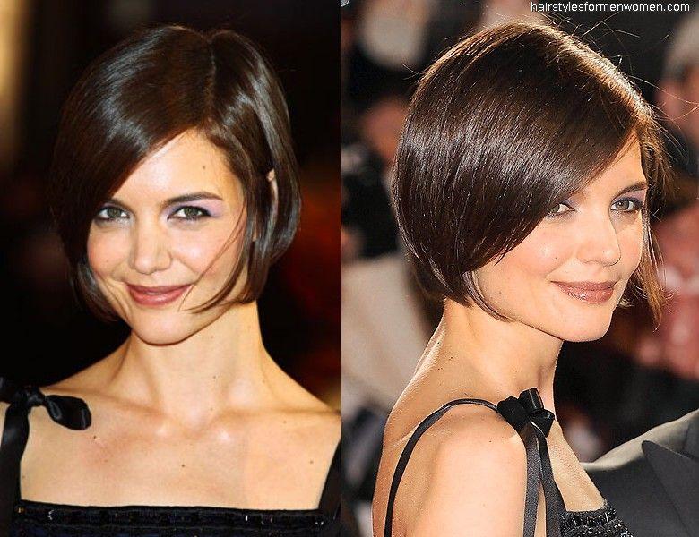 Pleasant 1000 Images About Short Hairstyles On Pinterest Katie Holmes Short Hairstyles Gunalazisus