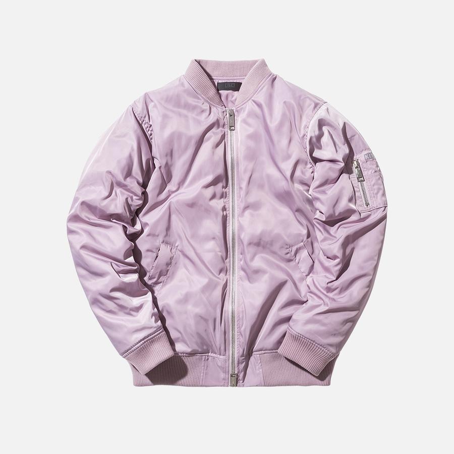 Kith Classics Astor Bomber Royal Purple Bomber Menswear Kith [ 900 x 900 Pixel ]