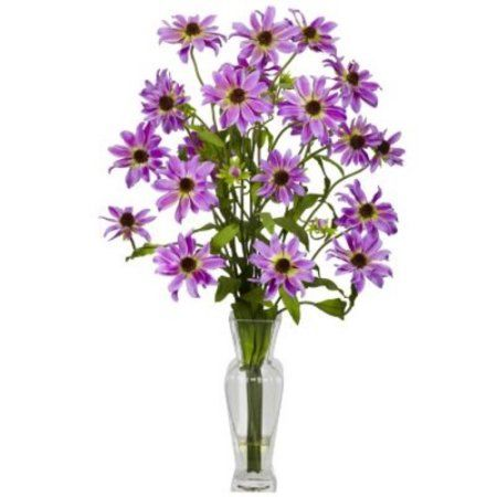 Nearly Natural 4687 Dogwood Silk Flower Arrangement Assorted
