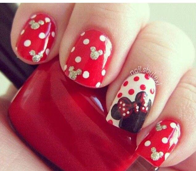 nailsbylexi .Disney nails   tırnak 1   Pinterest   Disney nails ...