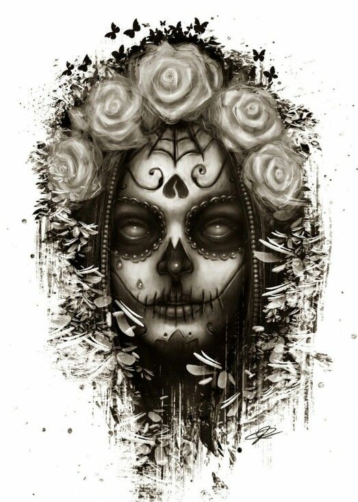 100 santa muerte tattoo skull best santa muerte tattoo meaning tattoo collections 14 best - Santa muerte signification ...