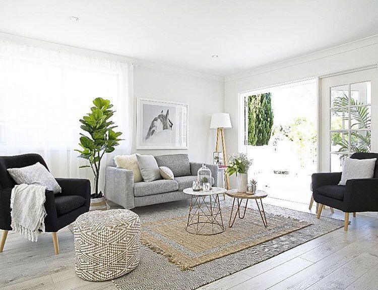. A little living room inspiration via the talented ladies at