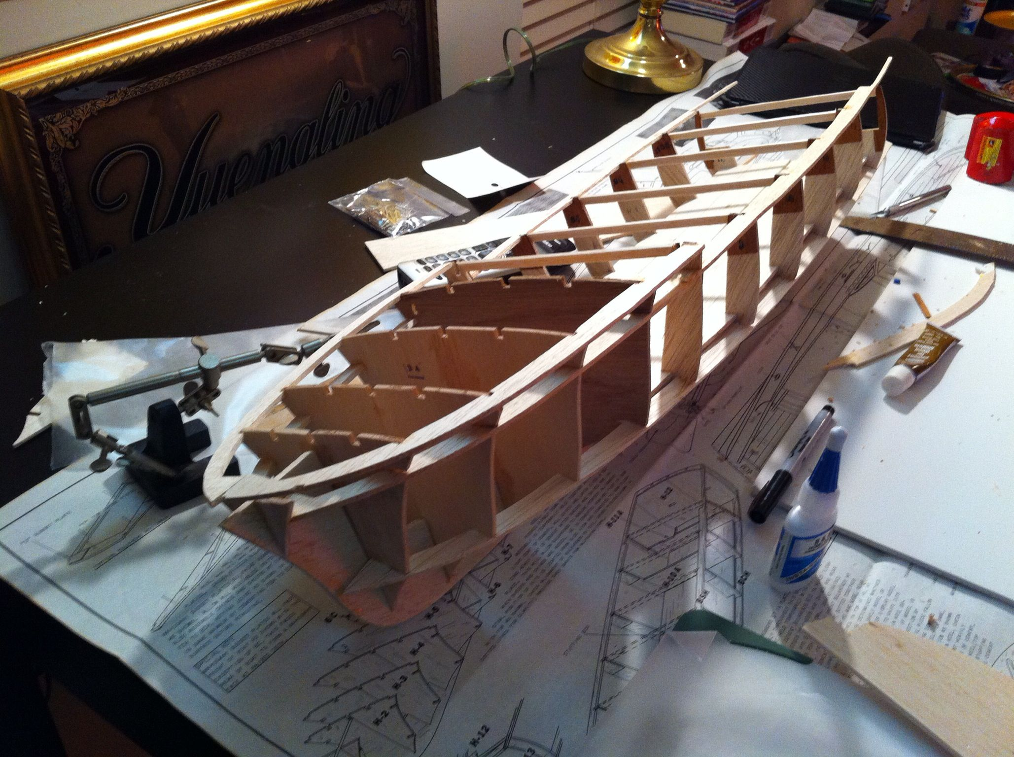 Building My 60 S Chris Craft Sterling Model Boat In 2019