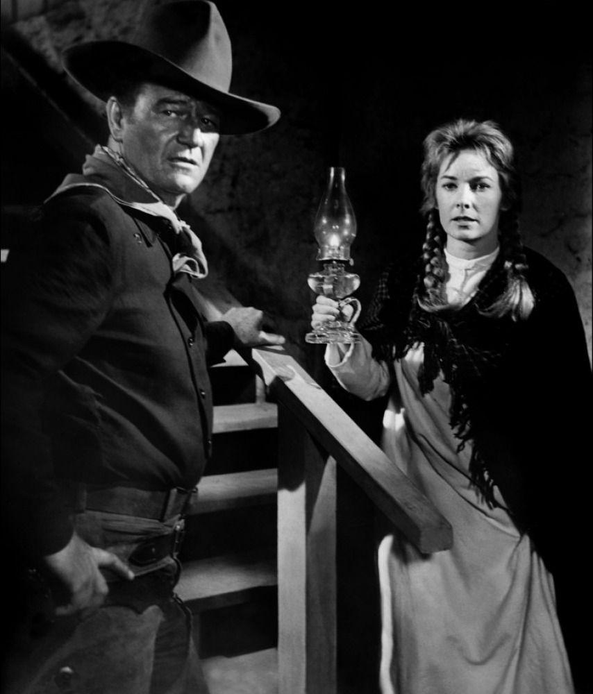 "John Wayne, Vera Miles (""the Man Who Shot Liberty Valance"