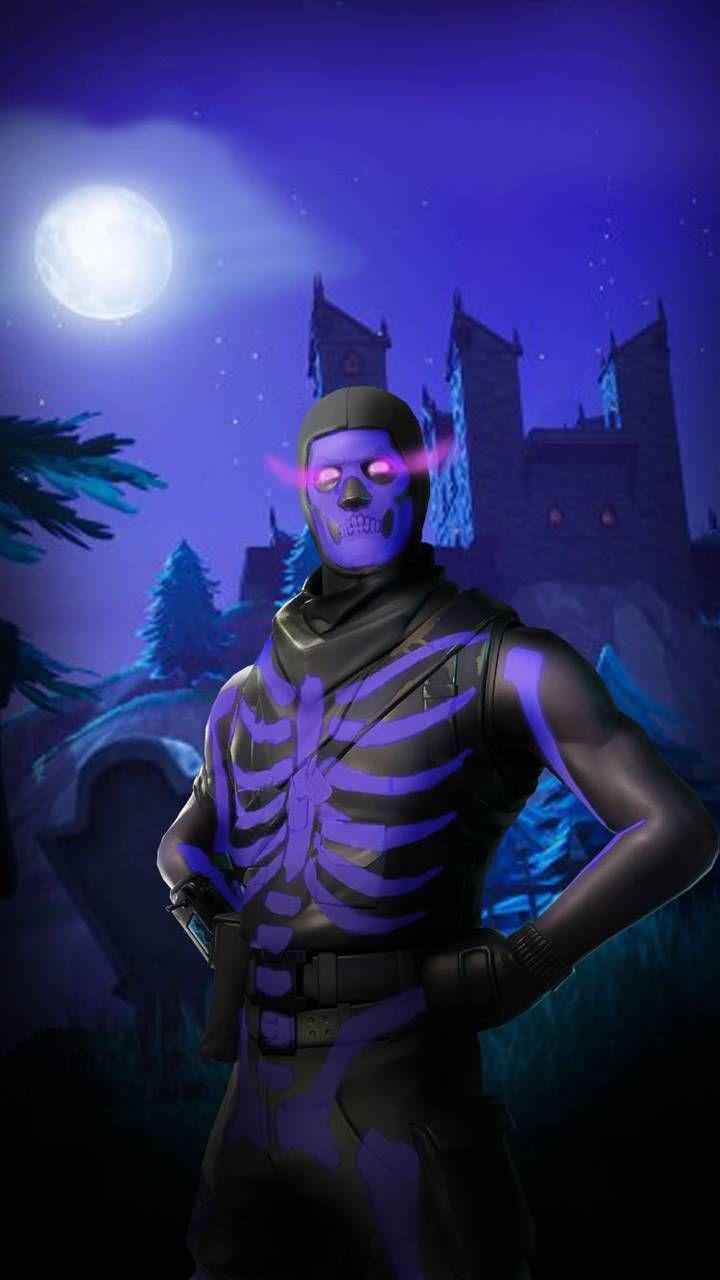Purple Skull Trooper Wallpaper By Pretzeltv 13 Free On Zedge Gaming Wallpapers Ghoul Trooper Game Wallpaper Iphone