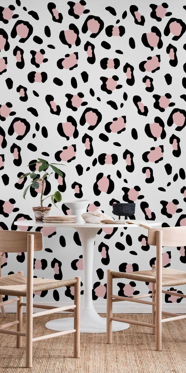 Jungle Leopard Peel And Stick Wallpaper Carter Main In 2020 Peel And Stick Wallpaper Removable Wallpaper Adhesive Wallpaper