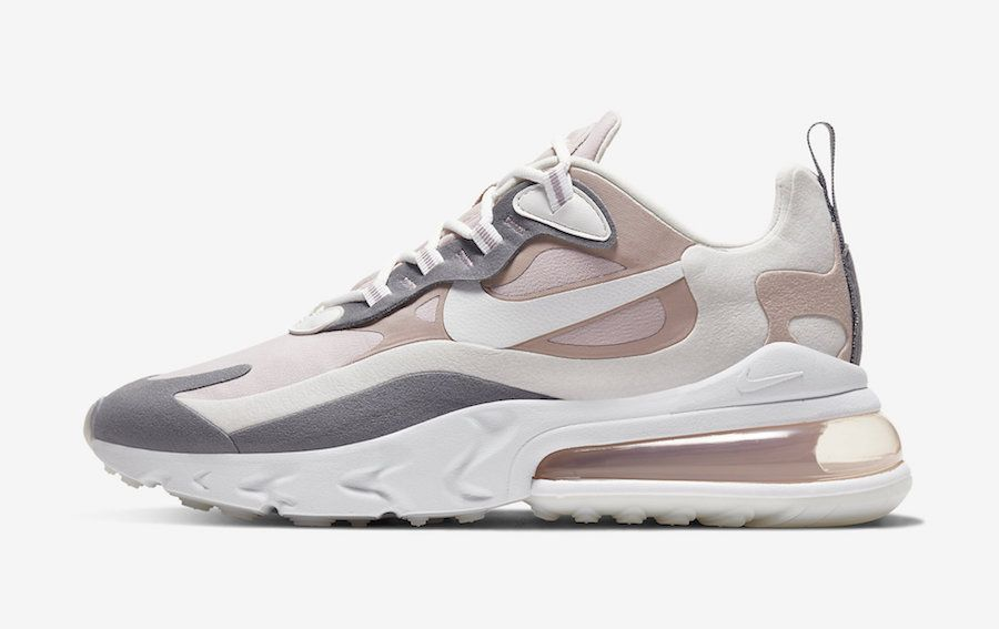 Nike Air Max 270 React Plum Chalk Mauve CI3899 500 Release