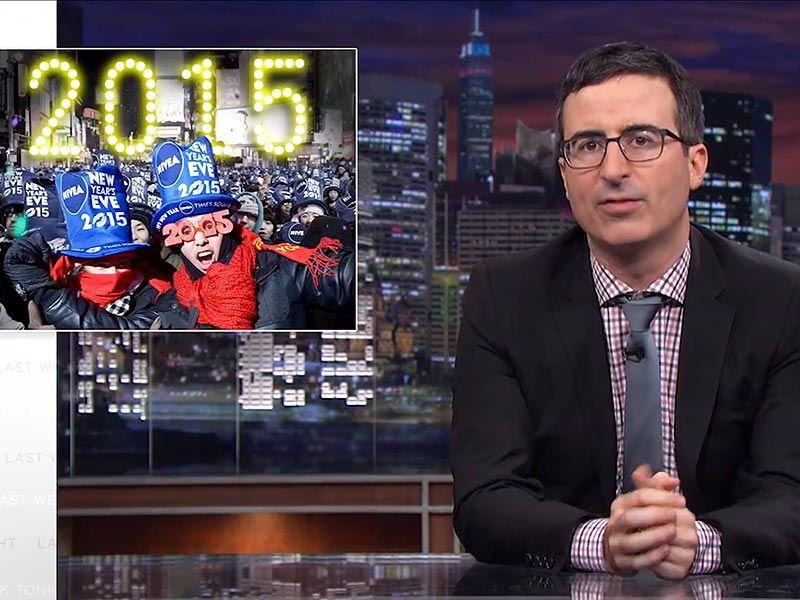 John Oliver on New Year's Eve 'Last Week Tonight' Host on
