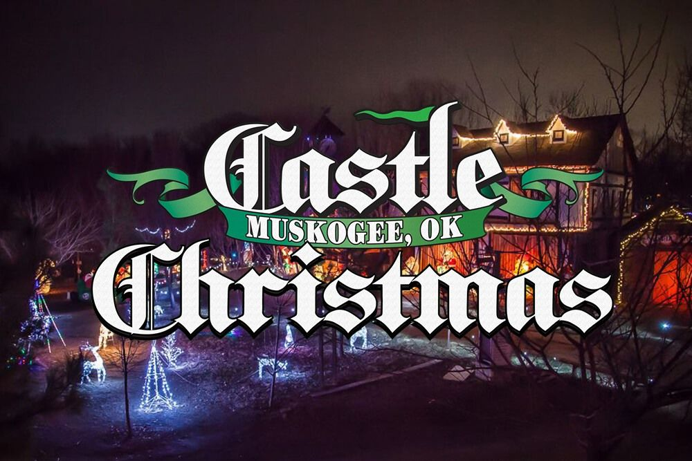 Who Is Ready For The Opening Night Of Garden Of Lights Muskogee And The Castle Of Muskogee S Christmas Lights Be Su Garden Of Lights Holiday Spirit Neon Signs