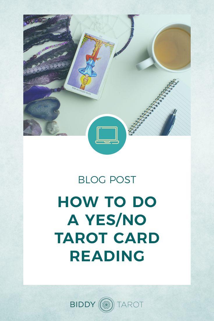 How to do a yesno tarot card reading reading tarot