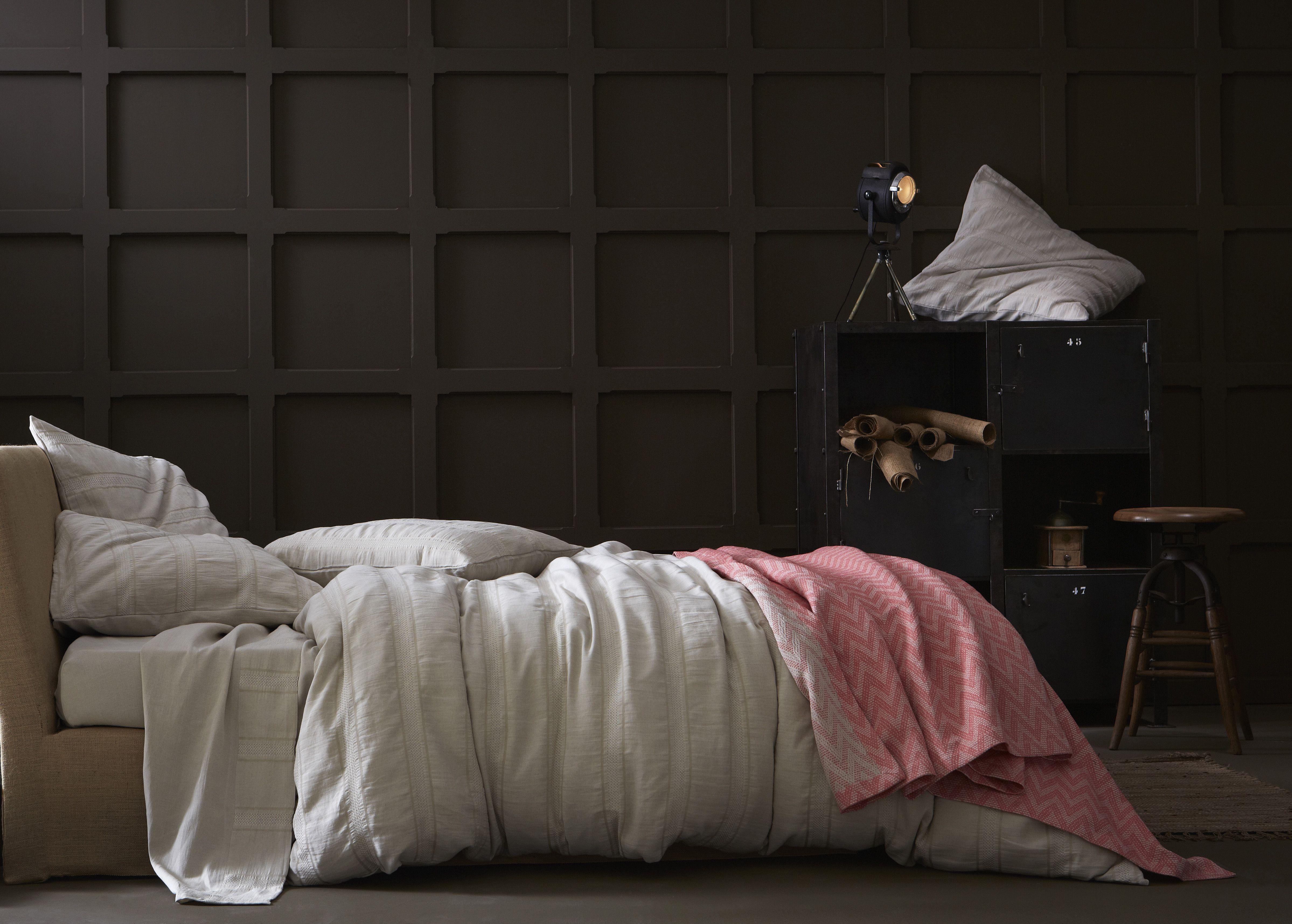 linge de lit essix home collection ESSIX HOME COLLECTION   NOMADE Linge de lit métissé lin   coton  linge de lit essix home collection