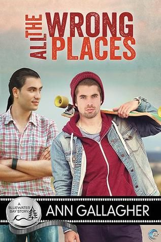 book review of all the wrong places by ann gallagher bluewater bay asexuality m/m romance lgbt