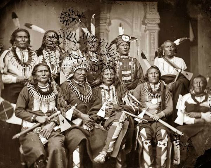 Chiefs of various tribes