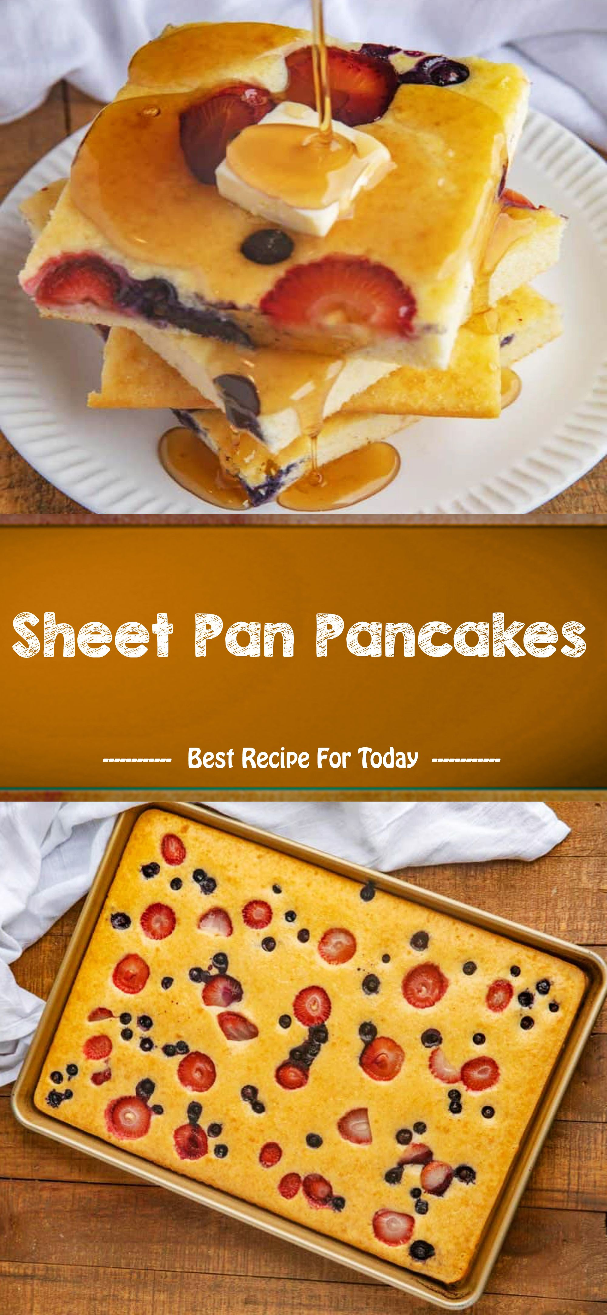 Sheet Pan Pancakes