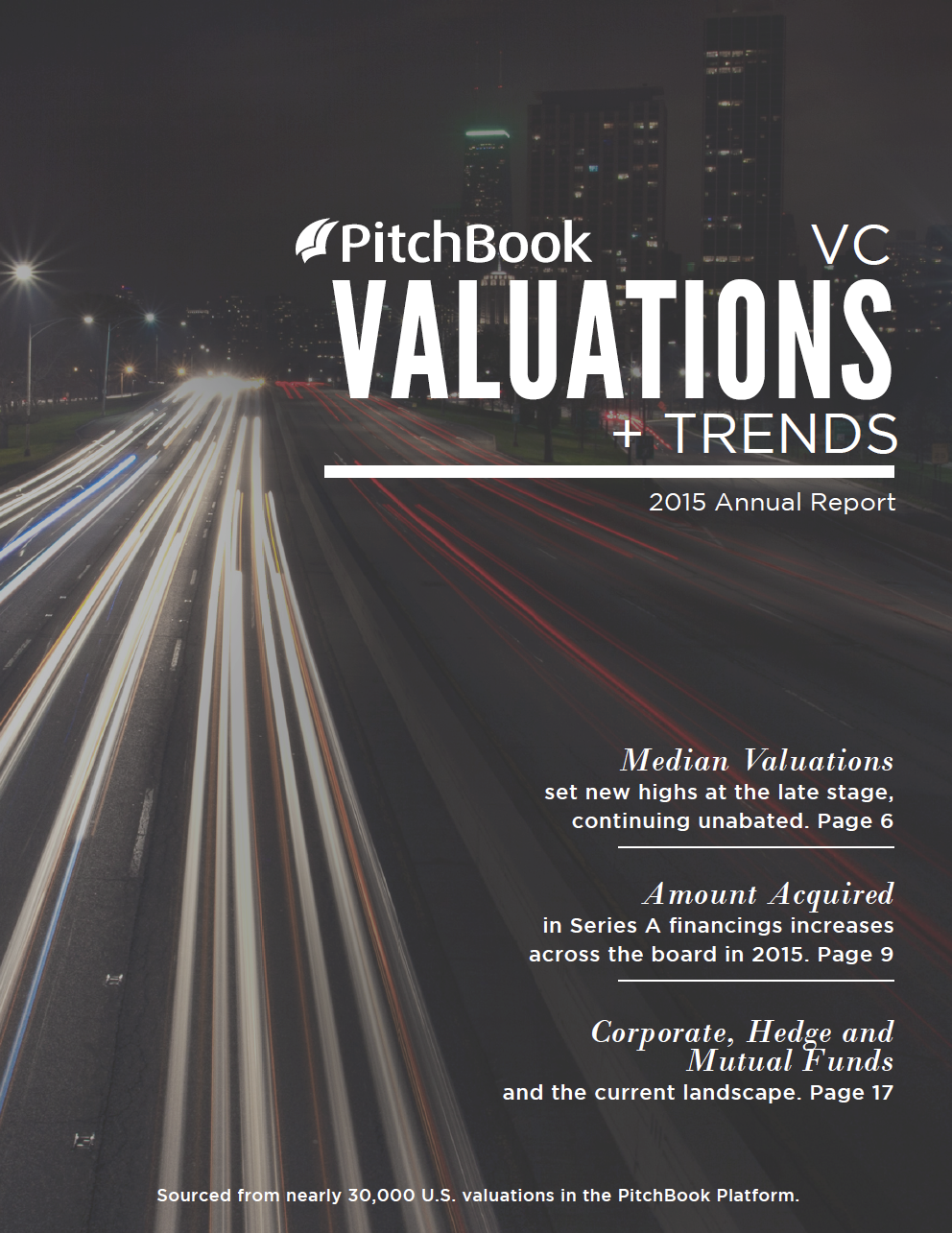 PitchbookS  Vc Valuations  Trends Report Examines Trends In