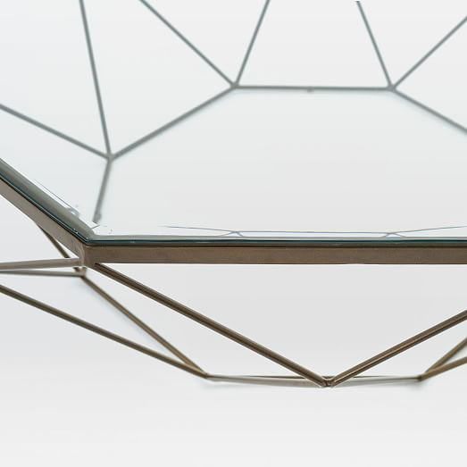 Geometric Coffee Table - West elm geometric coffee table