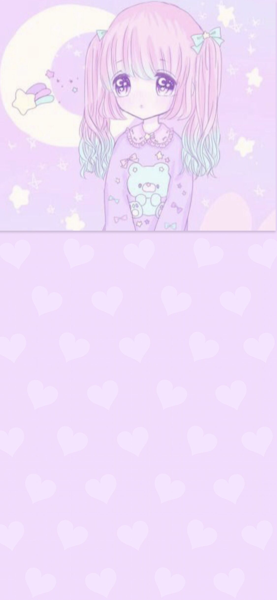 Wallpaper Background Iphone Android Hd Pink Pastel Cute