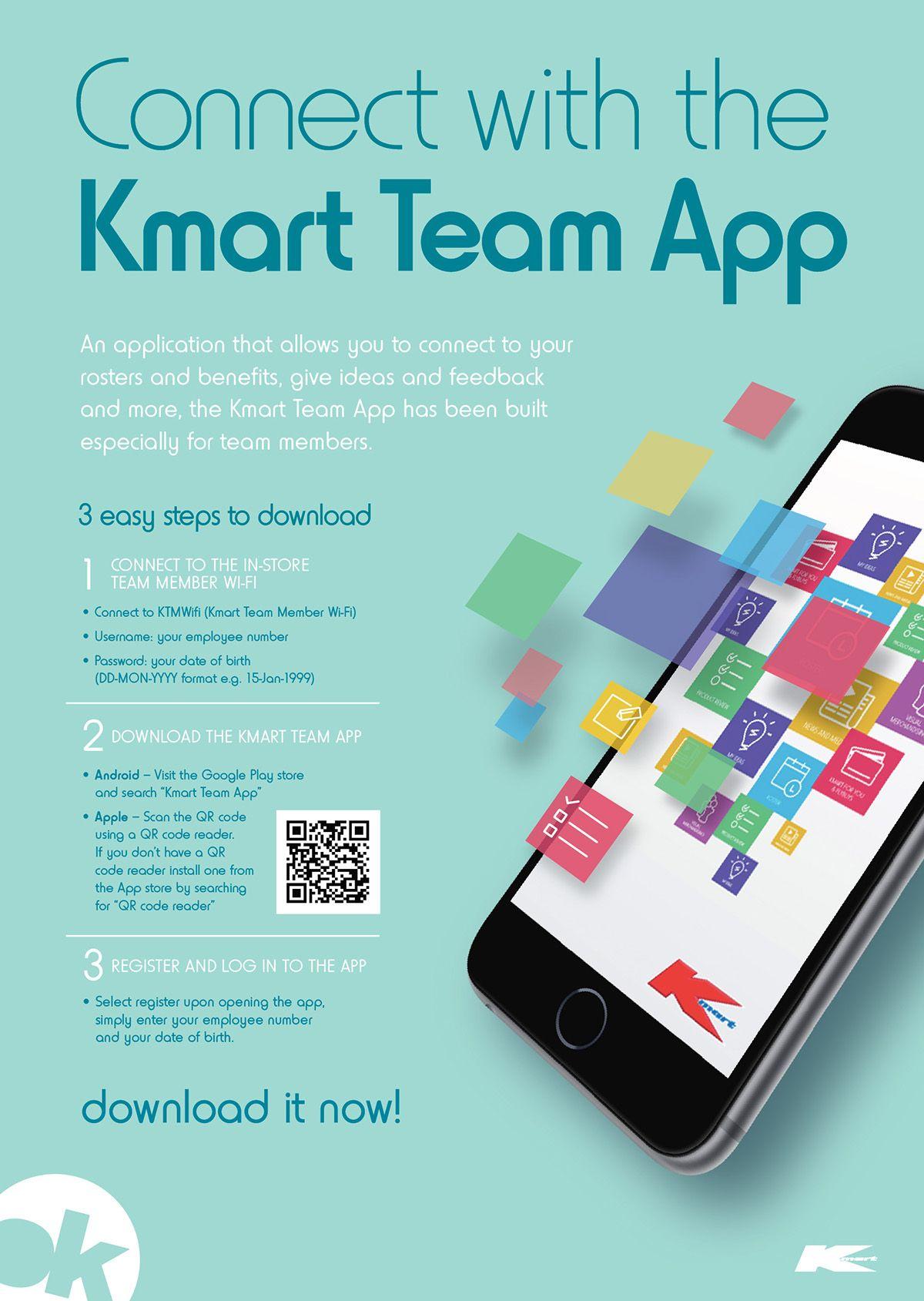 Kmart Australia Kmart Team App On Behance App Kmart Teams