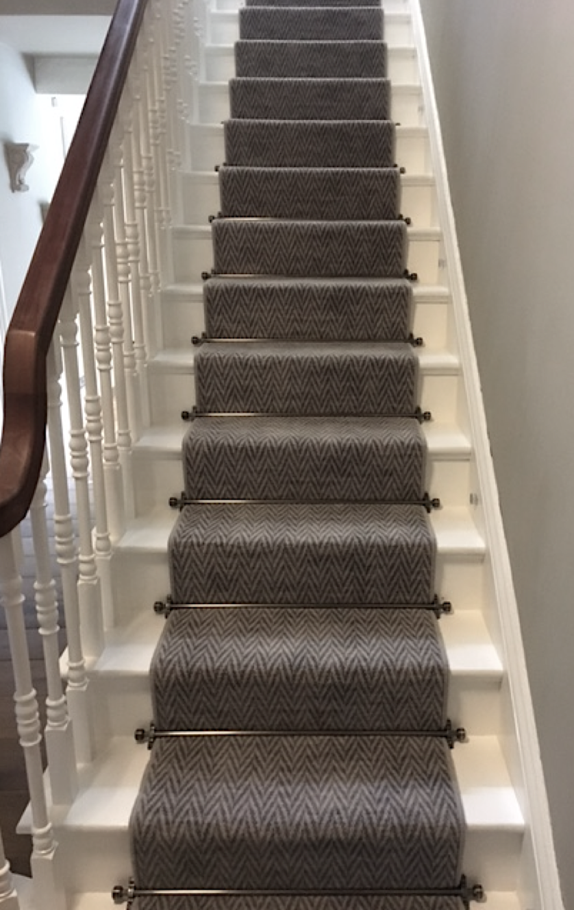 Axminster Carpets. A beautiful Hazy Days carpet installation performed by Rodgers of York, in York.