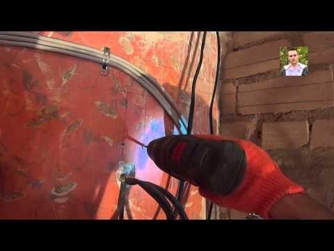 Электропроводка в квартире своими руками - пошаговая видео ...