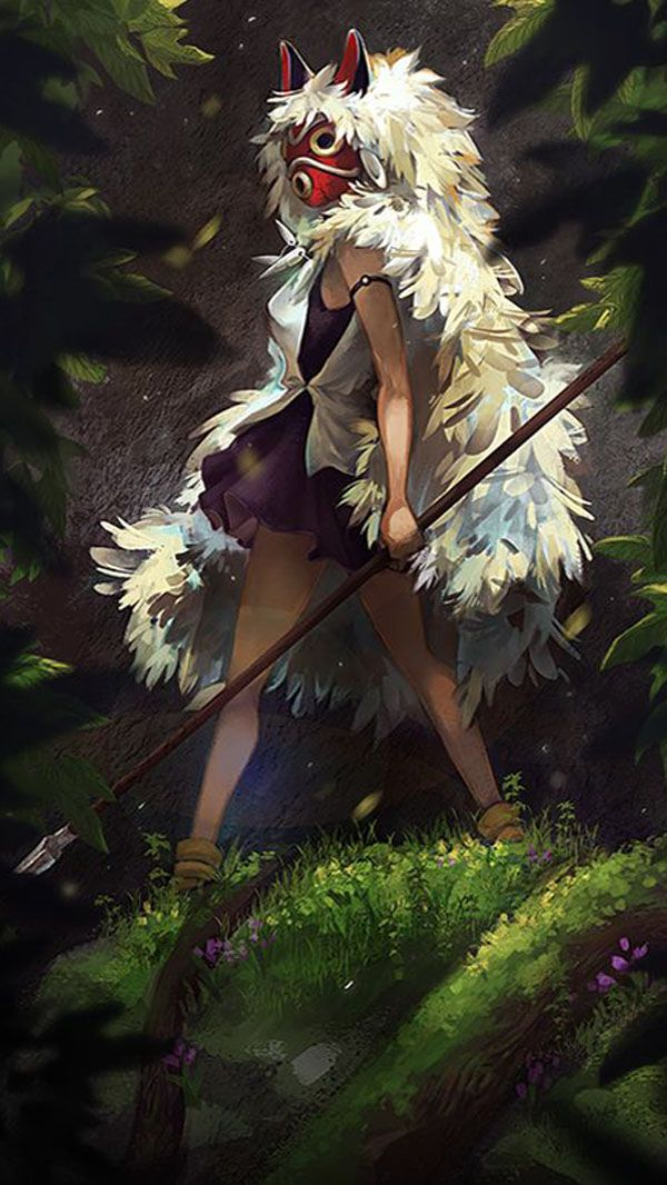 Mononoke Hime 4k HD Wallpapers 2020 em 2020 Ghibli