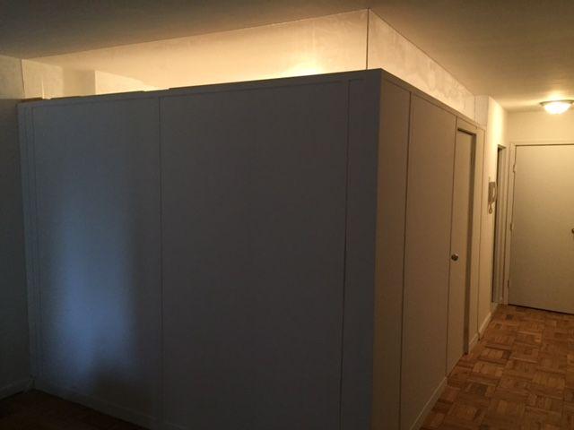 Photo Gallery U2013 Temporary Walls NYC U2013 Pressurized Walls U2013 Bookcase Walls    Dr WALL