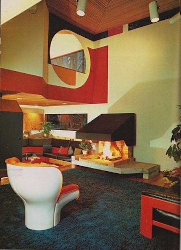 70s ski chalet chic? | 16 chic 1970s interiors you would want to