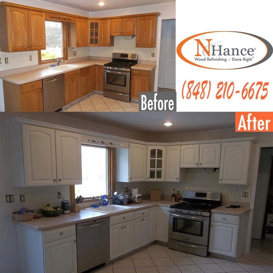 Is The Color Of Your Kitchen Cabinets Making Your Kitchen Look Dull And Outdated N Hance Can Kitchen Cabinets Traditional Kitchen Remodel Refinishing Cabinets