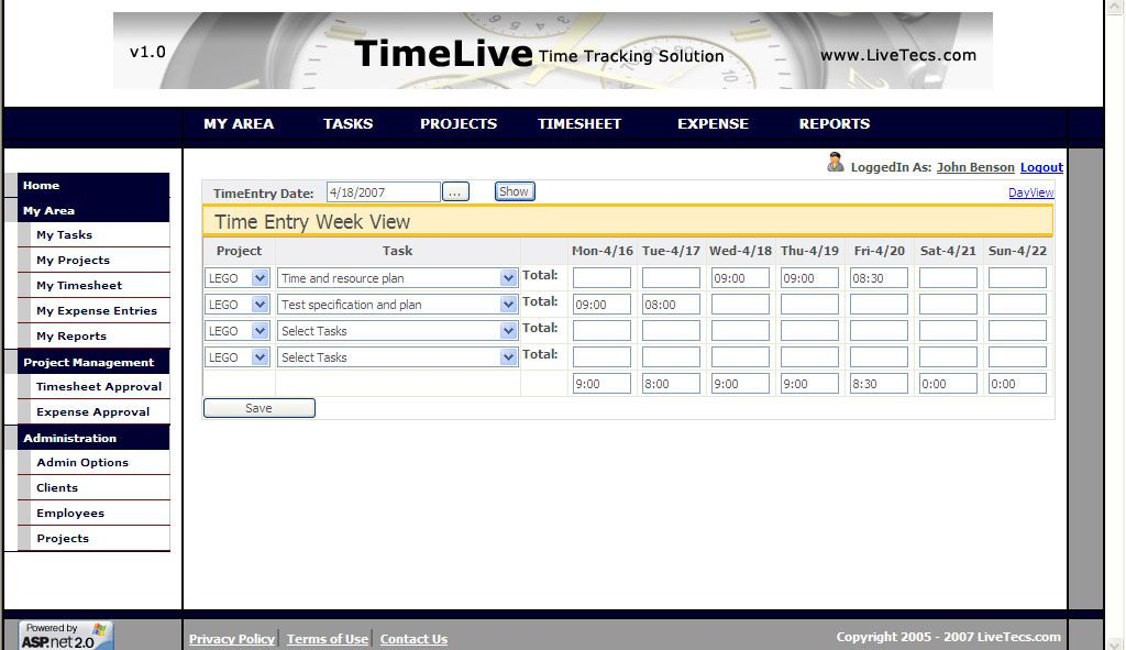 Free Hosted Timesheet Software Downloads At Winpcworld  Http