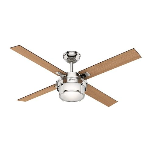 Hunter fan company 5931 hunter maybeck 52 in ceiling fan with led hunter fan company 5931 hunter maybeck 52 in ceiling fan with led light kit and aloadofball Image collections