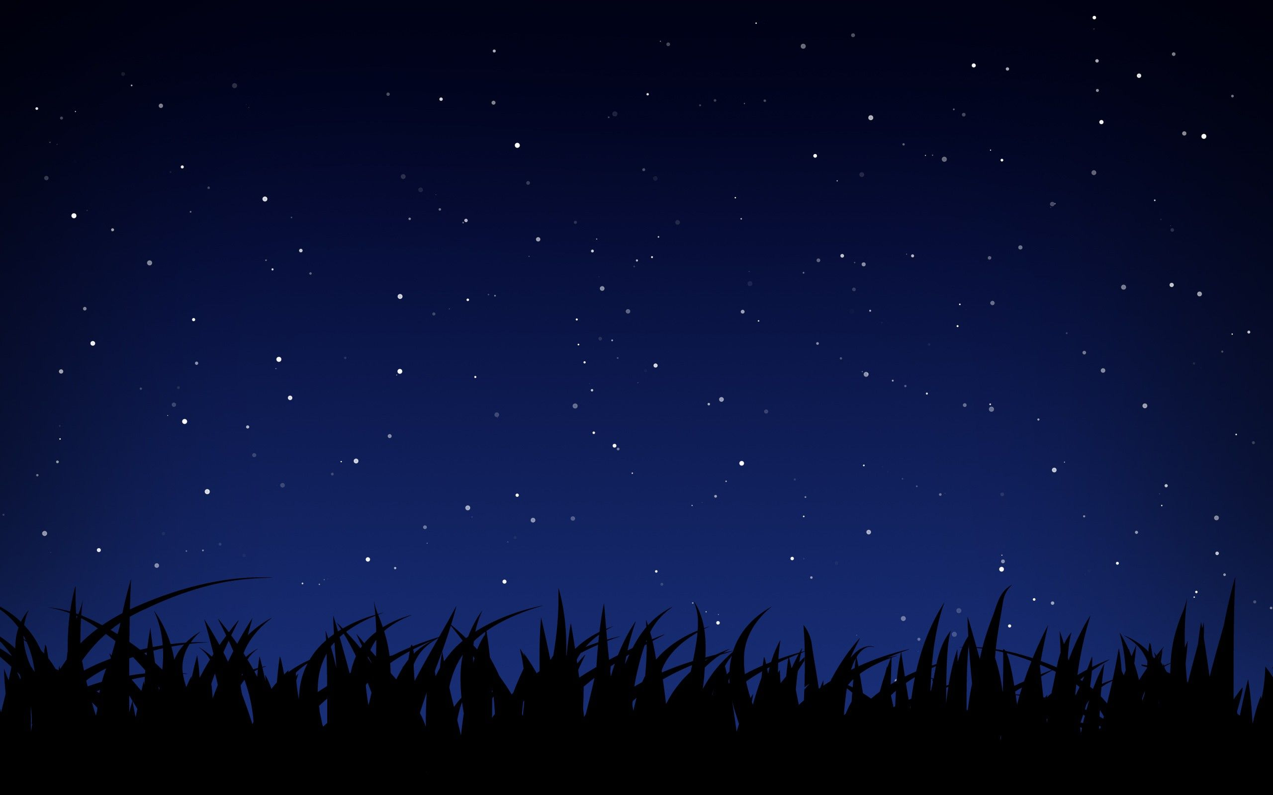 Night Sky Stars Background Psdgraphics - HD 2560×1600