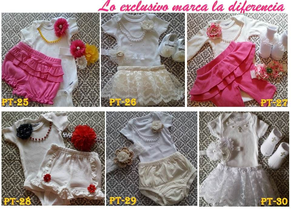 (1) Conjunto Bebe Body Mono Vestido Niña Ajuar Shabby Minnminnie - Bs. 17.666,66 en Mercado Libre