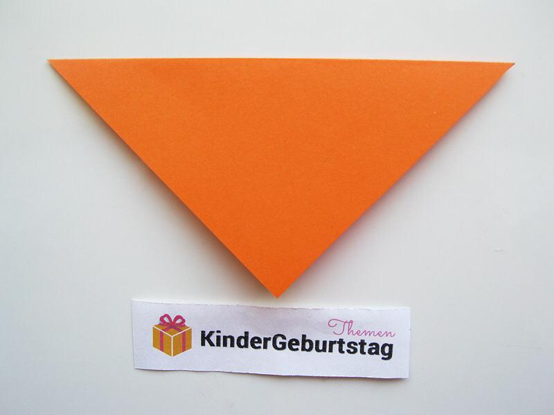 Origami Fuchs falten
