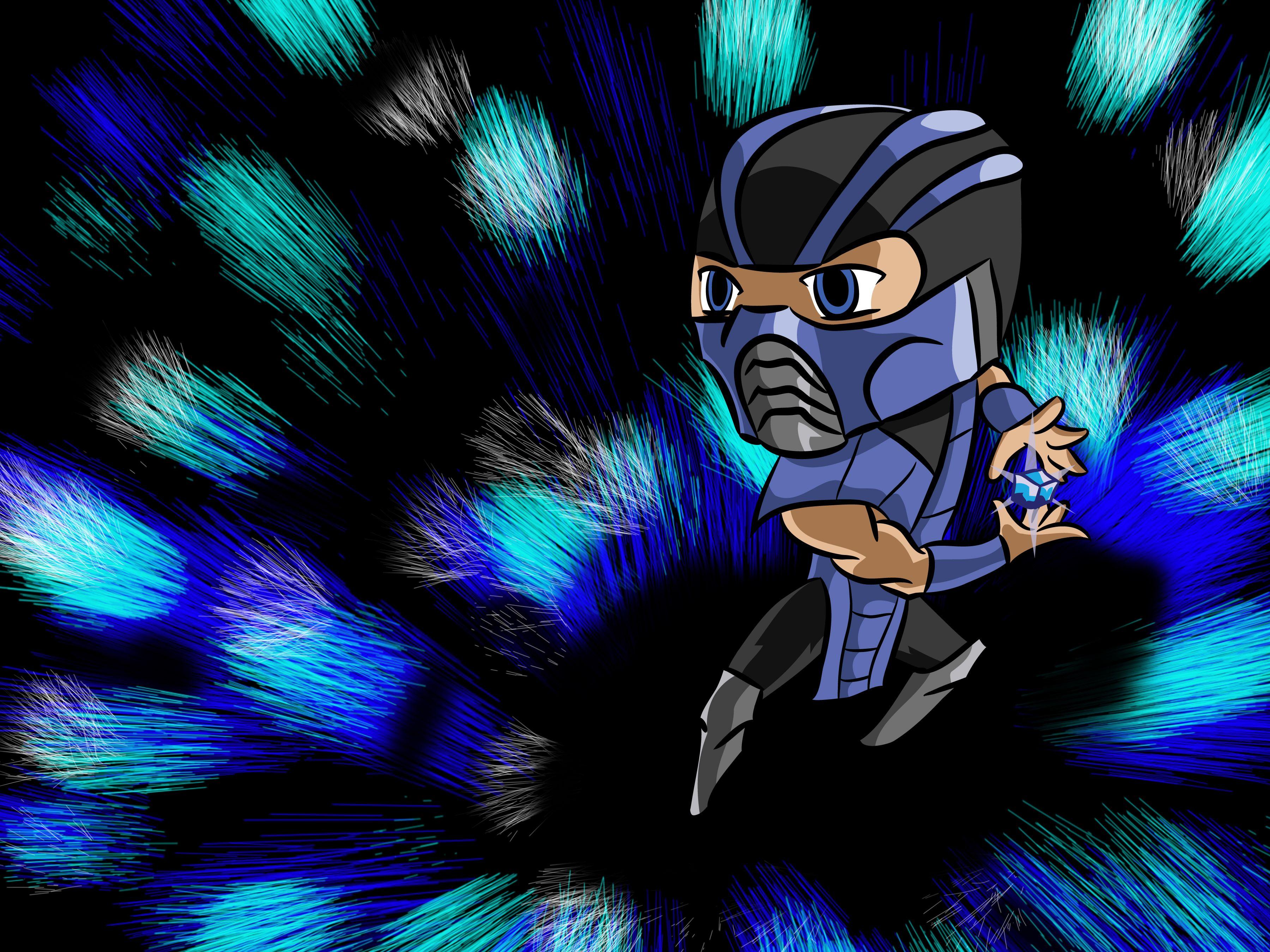 Sub Zero Chibi, Fictional characters, Character
